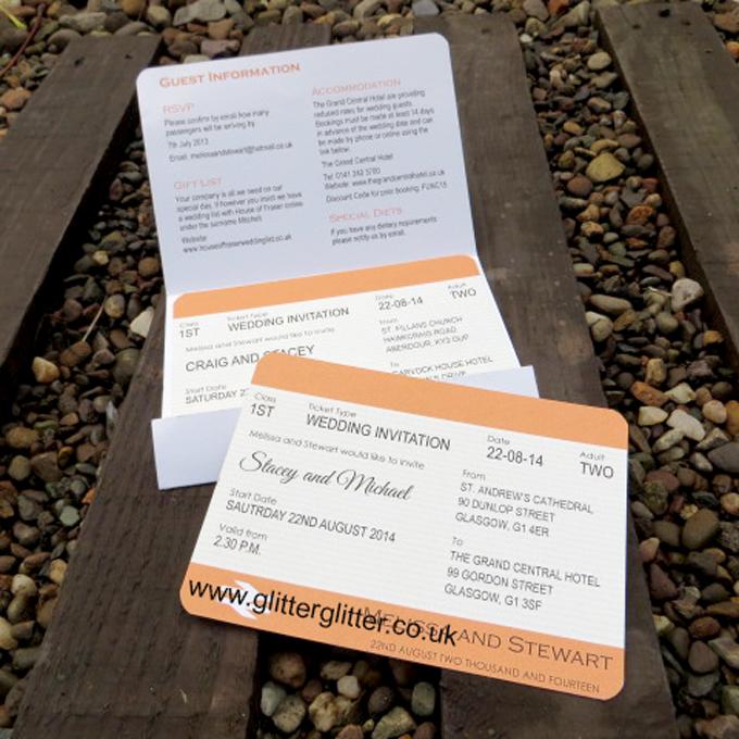 Folded Pocket And Wallet Invitations